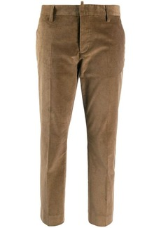 Dsquared2 plain cropped trousers