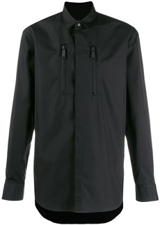 Dsquared2 plain long-sleeved shirt