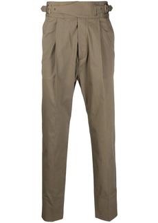 Dsquared2 pleat-detail buckled trousers