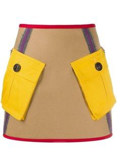 Dsquared2 pocket A-line skirt