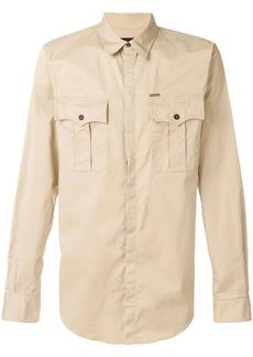 Dsquared2 pocket detail shirt