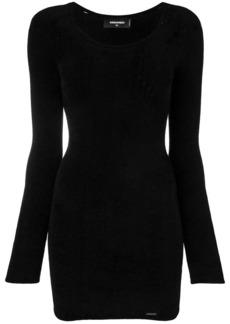 Dsquared2 pointelle knit dress