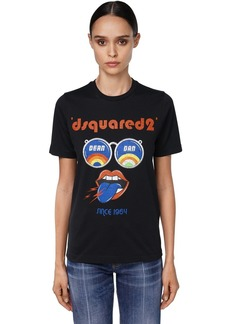 Dsquared2 Pride Print Cotton Jersey T-shirt
