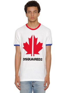 Dsquared2 Print Very Very Dan Fit Jersey T-shirt