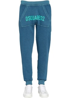 Dsquared2 Printed Cotton Jersey Sweatpants