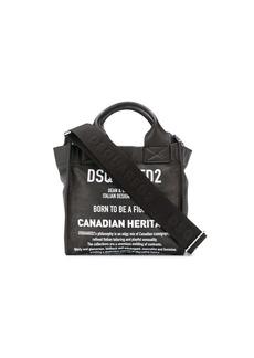 Dsquared2 printed cross body bag