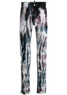 Dsquared2 printed jeans