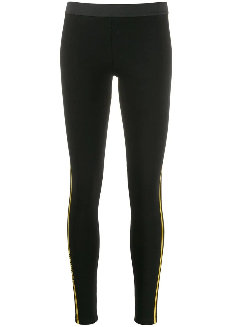 Dsquared2 printed logo leggings