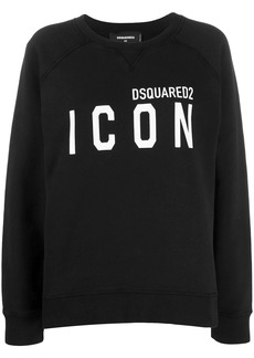 Dsquared2 printed logo sweatshirt