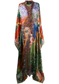 Dsquared2 printed long dress
