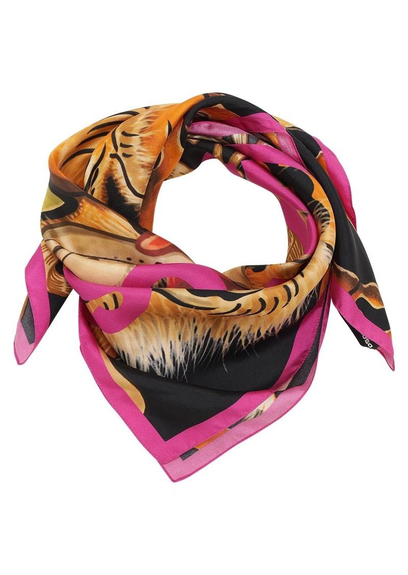 Dsquared2 Printed Silk Foulard