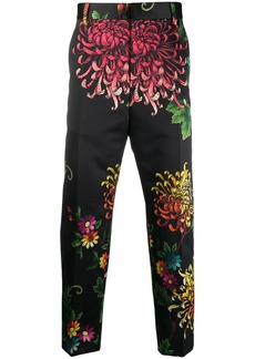 Dsquared2 printed tailored trousers