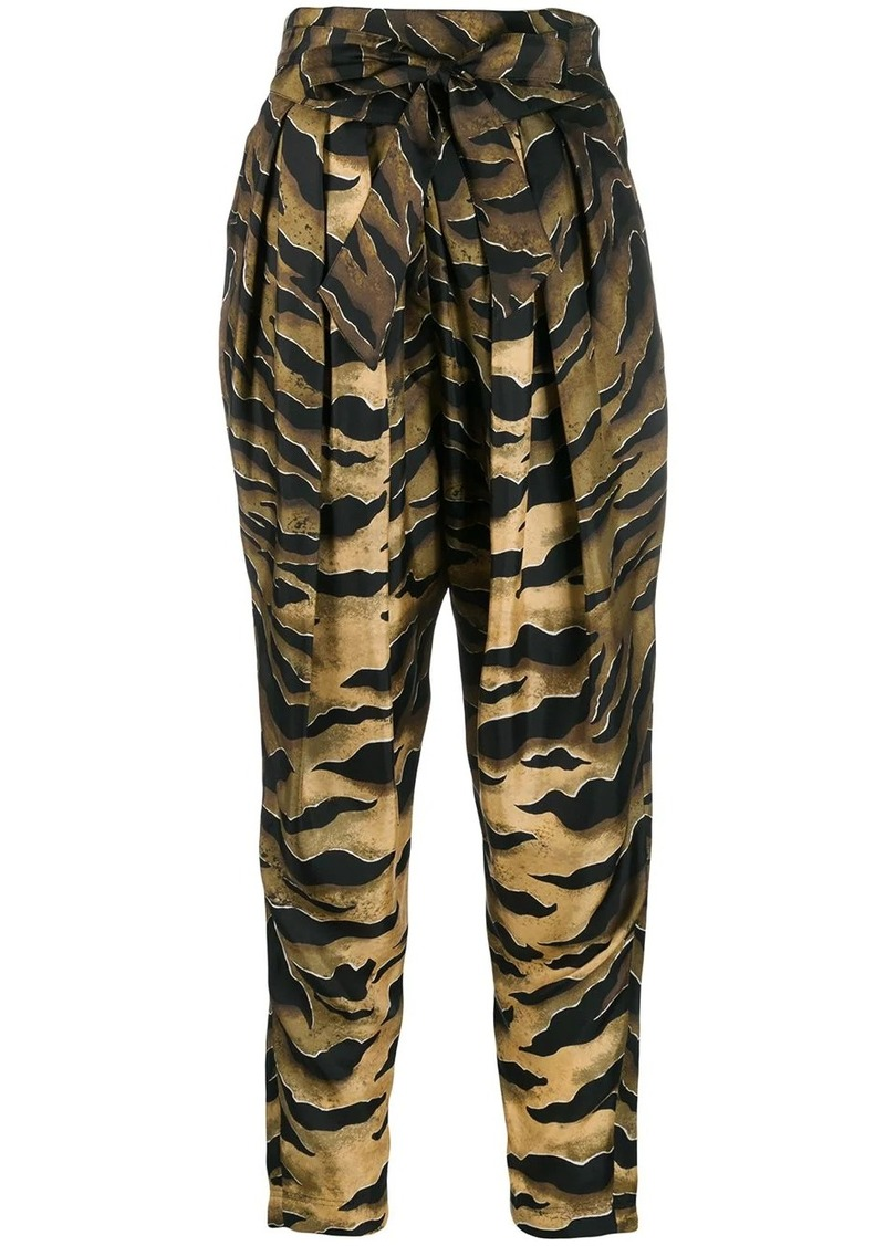 Dsquared2 printed tapered trousers