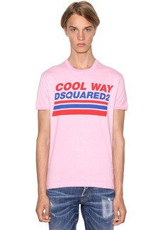 Dsquared2 Printed Very Very Dan Fit Jersey T-shirt