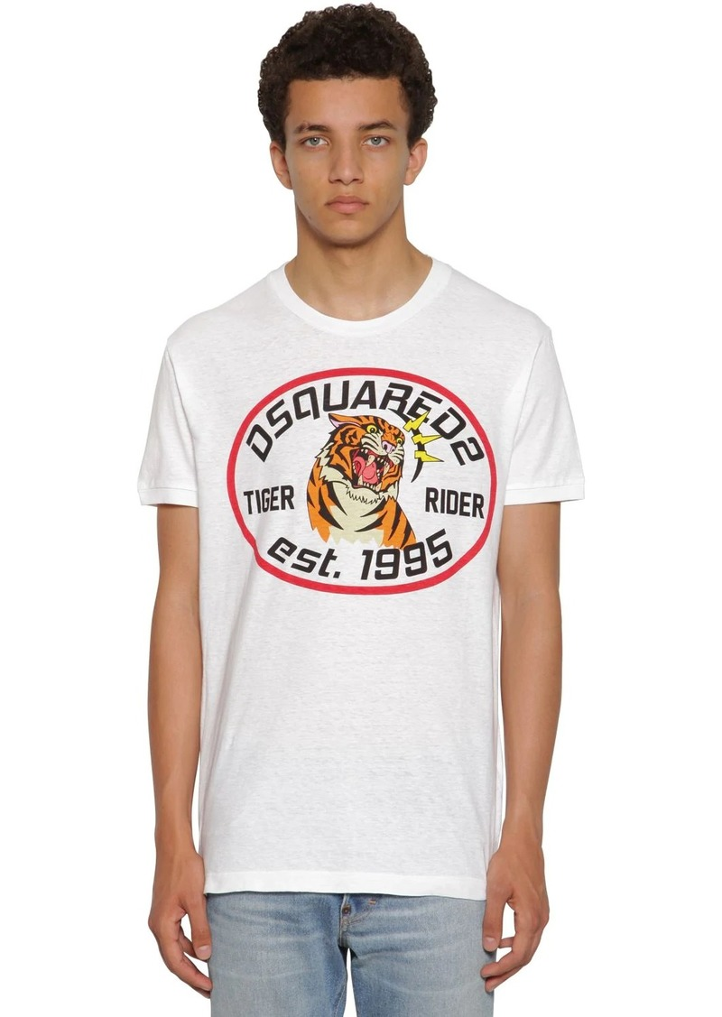 Dsquared2 Printed Very Very Dan Jersey T-shirt
