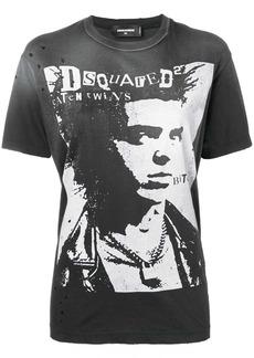 Dsquared2 punk portrait T-shirt