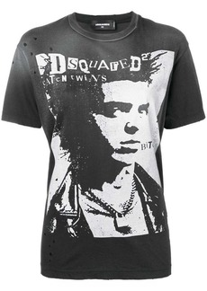 Dsquared2 punk portrait T-shirt