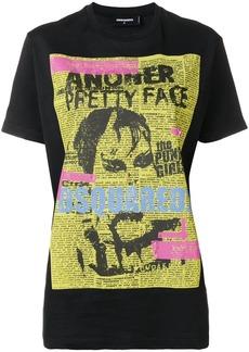 Dsquared2 punk poster T-shirt