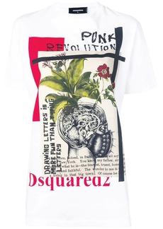 Dsquared2 'Punk Revolution' print T-shirt