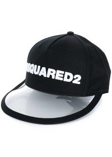 Dsquared2 PVC peak baseball cap