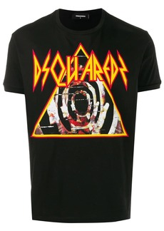Dsquared2 pyramid logo T-shirt