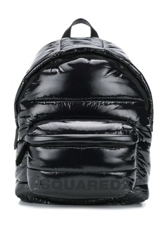 Dsquared2 quilted logo backpack
