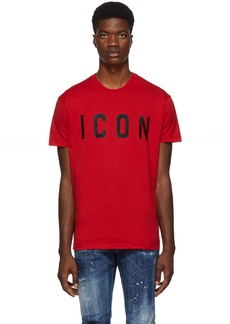 Dsquared2 Red 'Icon' T-Shirt