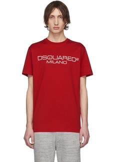 Dsquared2 Red Logo T-Shirt