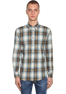 Dsquared2 Relaxed Cotton Check Shirt
