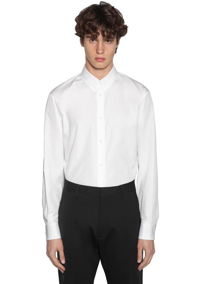 Dsquared2 Relaxed Dan Cotton Poplin Shirt