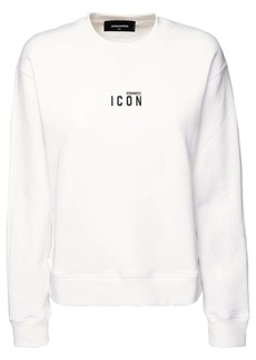 Dsquared2 Renny Fit Icon Printed Jersey Sweatshirt