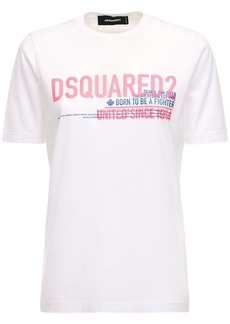 Dsquared2 Renny Fit Logo Printed Jersey T-shirt