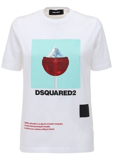 Dsquared2 Renny Fit Mountain-pop Jersey T-shirt