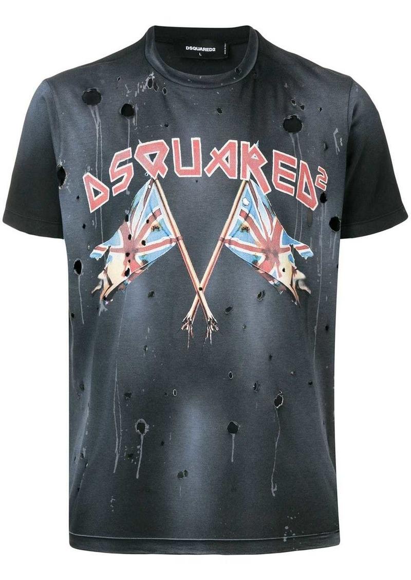 Dsquared2 reverse logo T-shirt