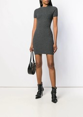 Dsquared2 ribbed fitted dress