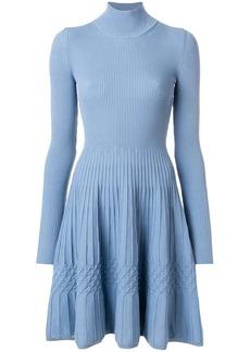 Dsquared2 ribbed knitted skater dress
