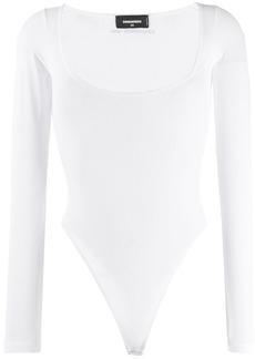 Dsquared2 ribbed logo bodysuit