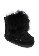 Dsquared2 Riri Fur & Suede Snow Boots