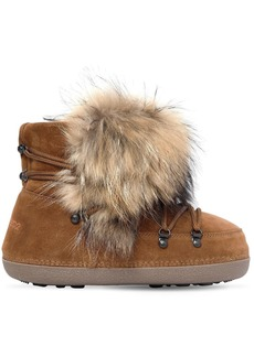 Dsquared2 Riri Fur & Suede Snow Boots