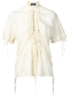 Dsquared2 ruched front blouse