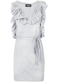 Dsquared2 ruffle-trimmed dress
