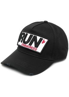 Dsquared2 run logo-patch cap