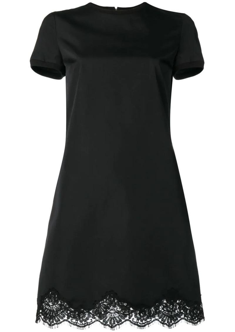 Dsquared2 scalloped lace hem mini dress