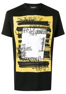Dsquared2 scribble print T-shirt