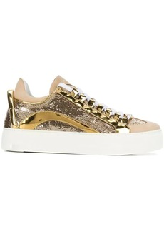 Dsquared2 sequin embellished sneakers