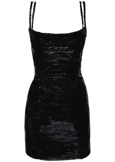 Dsquared2 Sequined Bustier Mini Dress