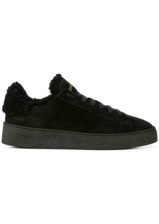 Dsquared2 shearling lined sneakers