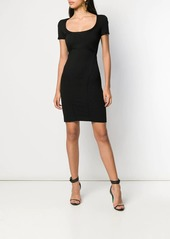 Dsquared2 short fitted dress