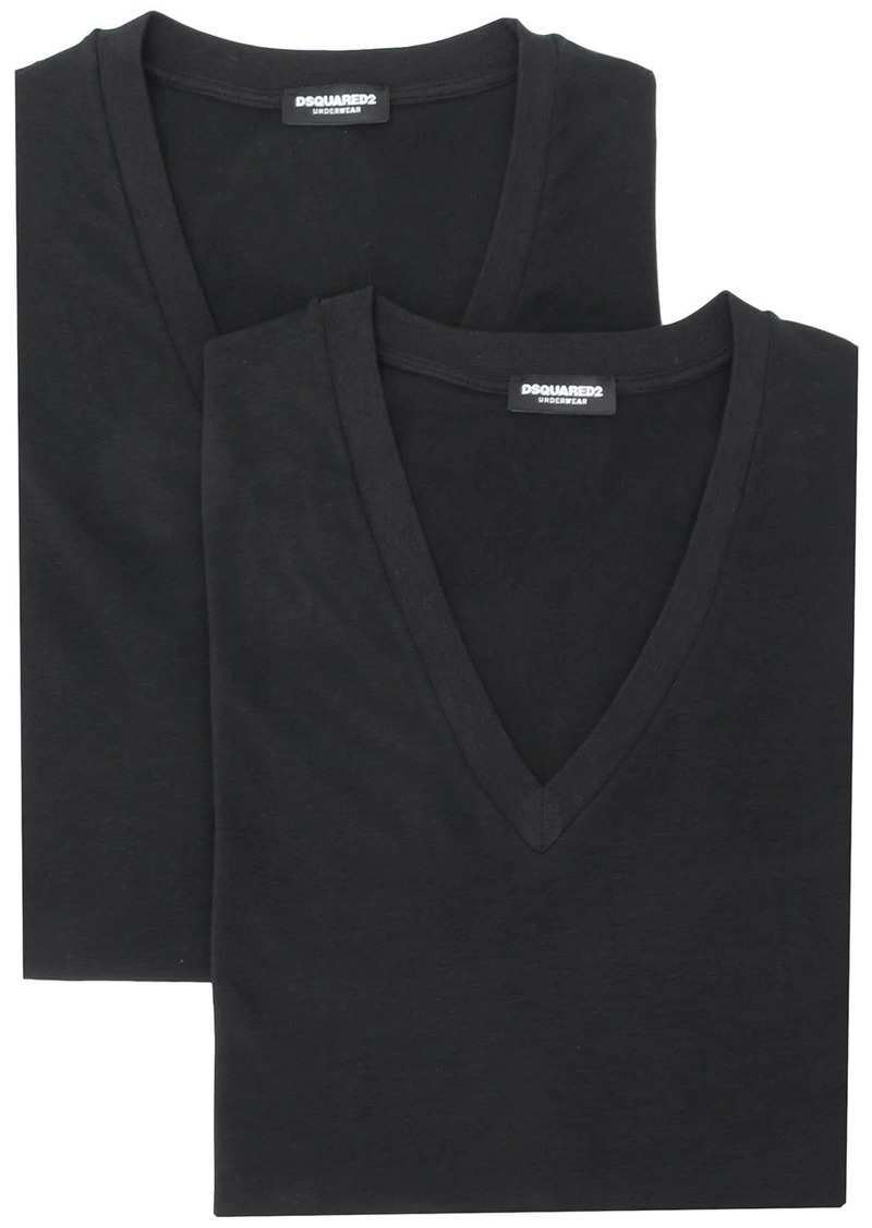 Dsquared2 short-sleeve fitted T-shirt