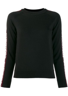 Dsquared2 side logo band jumper